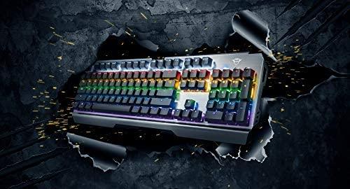 Trust Gaming Gxt 877 Scarr Mechanical Keyboard Qwerty Computers Accessories