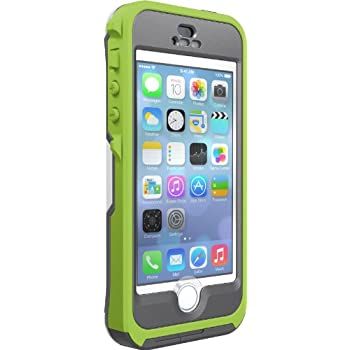 timeless design 77c6e 50c19 Otterbox Preserver Series Waterproof Case iPhone 5/5S - Retail Packaging -  Pistachio - Grey/Glow Green