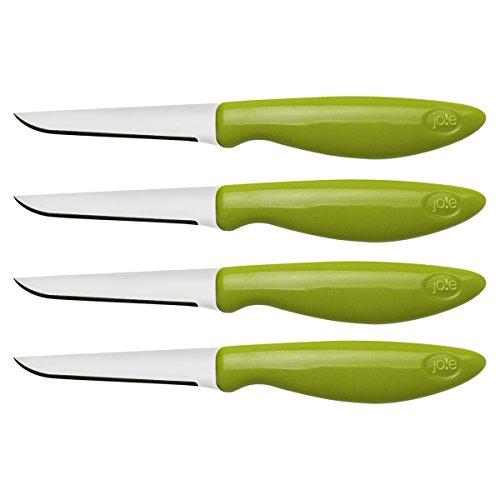 Joie 26028 Stainless Steel Flexible Paring/Garnishing Knives (Set of 4)