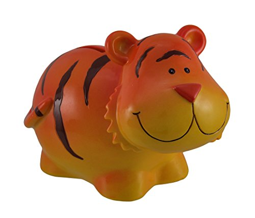 Blowfish Orange Tiger with Chubby Cheeks Coin Bank