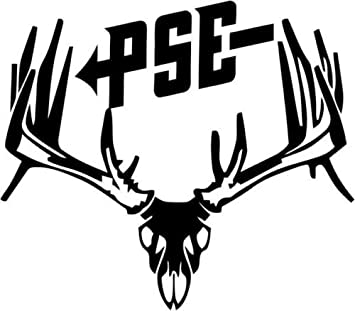 Amazoncom PSE Bow Hunting Deer Buck Skull Sportsman Car Truck - Bow hunting decals for trucks