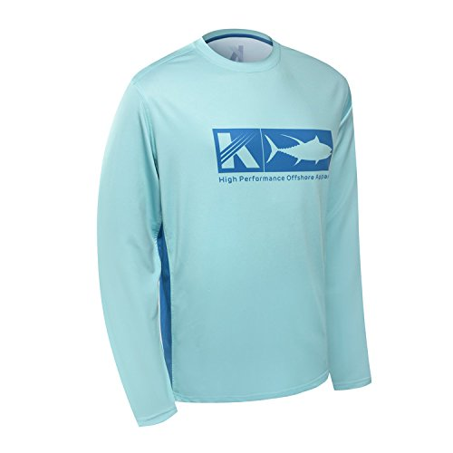 Performance Long Sleeve Shirt UPF 50 Mesh Quick Dry Fit Cooling Running Fishing Hiking UV Sun...