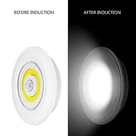 Amazon.com: Luz de noche adhesiva con nuevo diseño, sensor ...