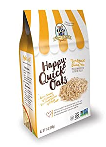 Bakery On Main Gluten-Free, Non-GMO Happy Oats, Quick, 24 Ounce (Pack of 4)
