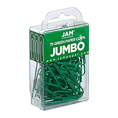 JAM Paper - Paper Clips - Regular and Jumbo Paperclips