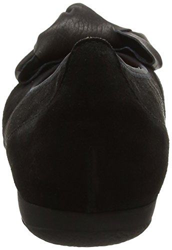 Gabor Women's Casual Ballet Flats, Black Black (Schwarz)