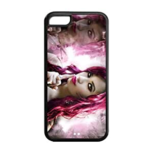 Customzie out Your Own theater Singer Demi schizophrenia Lovato Back Case for iphone5C had By FAQA Case