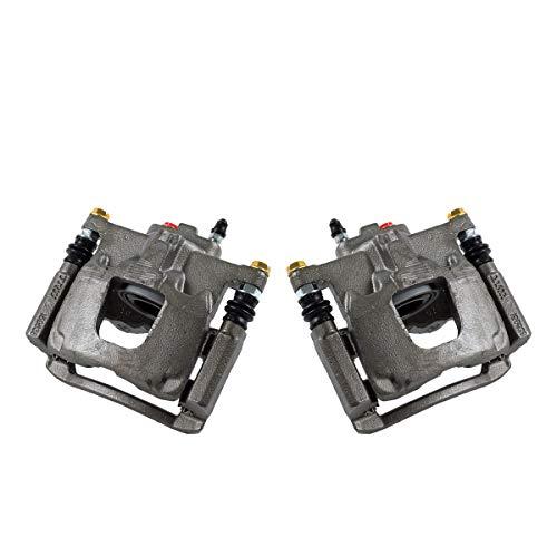 CCK02476 [ 2 ] REAR Premium Grade OE Semi-Loaded Caliper Assembly Pair Set ()