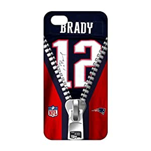 NFL New England Patriots Tom Brady Jerseys 3D Phone Case for iPhone 5s