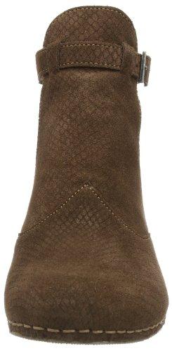 Type I Ontmoet Dameslaarzen Kort Bruin (mustang)