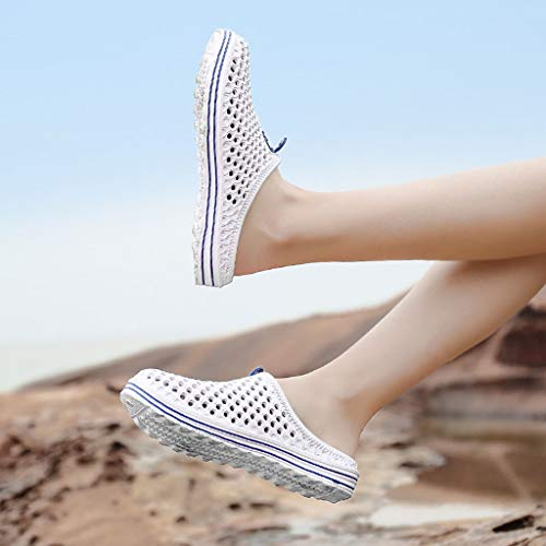 Mens Womens Hole Shoes Beach Sandals Hollow Out Casual Breathable Lightweight Slippers Flats Water Shoes by PXiong (Image #1)
