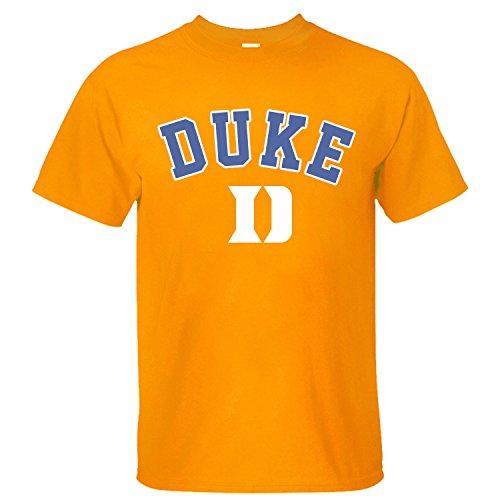 XMANA Men's Duke Blue Devils Start Of Season Perfomance Cotton T-Shirt orange XL