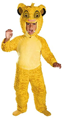 Deluxe Simba Costume - Toddler