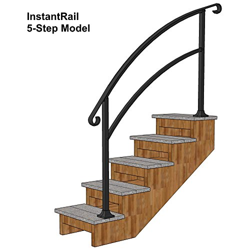 Review InstantRail 5-Step Adjustable Handrail