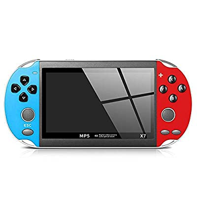 FEDBNET Handheld Game Console ,8GB Handheld PSP Video Game Console Player Built-in Games Portable Console, Multi-Function Game Console, Supporting Music, Photos and Videos, Etc: Toys & Games