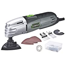 Genesis GMT15A Multi-Purpose Oscillating Tool, Silver