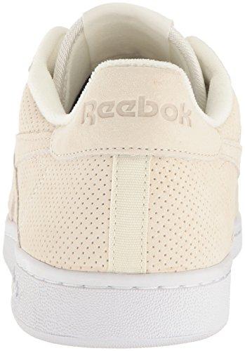 Reebok Menns Npc Uk Perf Mote Sneaker Klassisk Hvit / Canyon Rød / Hvit