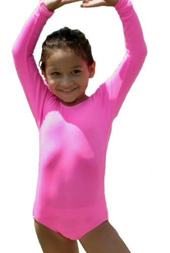 Long Sleeve Kid's Leotard available in 30 Colors! ()