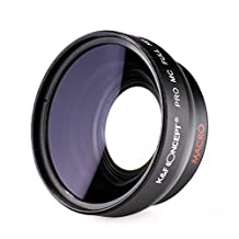 0.45x wide angle lens 58MM K&F Concept Wide Angle Lens for Canon Nikon