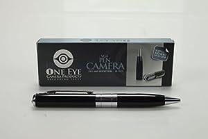 Hidden Camera Spy Pen Recorder - Real Spy Gear Camera Rec Pen - NO BLINKING LIGHTS by 1 Eye Products
