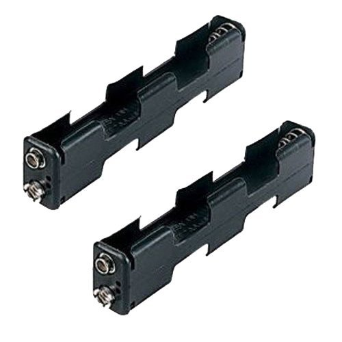 Garrett Two Pack AA Battery Holder for AT Pro / Gold and ATX Metal Detector by Garrett