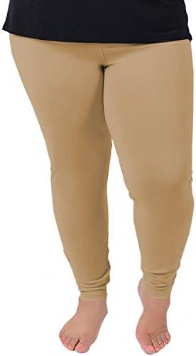 استرچ شلوار استرچ زنان پنبه به علاوه اندازه ساق است