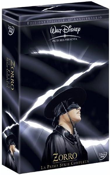 Zorro - La Prima Serie Completa 6 Dvd by guy williams ...