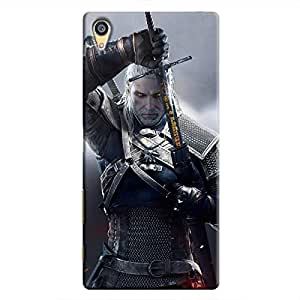 Cover It Up - Silver Witcher blade Xperia Z5 Dual Hard Case