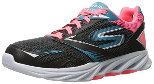 Skechers Rendimiento Go Run vórtice espiral zapatillas de running Black/pink
