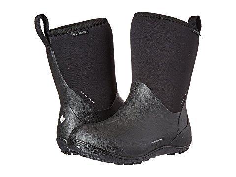 [Columbia(コロンビア)] レディースブーツ靴 Snowpow Mid Omni-Heat [並行輸入品] US 5.5(22.5cm) B - Medium ブラック/ライトグレー B07JW1M6V9