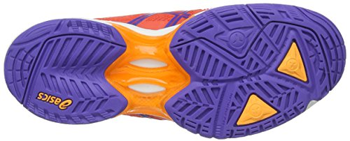 ASICS Gel-Solution Speed 2, Damen Tennisschuhe Orange (Hot Coral/Lavender/Nectarine 633)