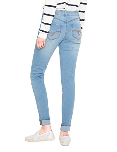 Second Denim Skin Desigual 5007 Jeans Bleu Denim Skinny Wash Femme Light 5nHBwpHTxq