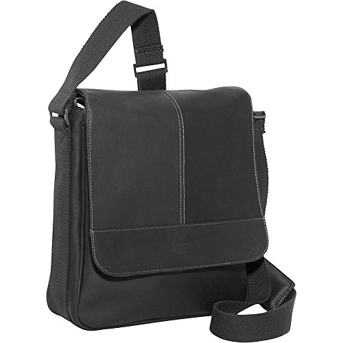 Kenneth Cole Reaction Bag for Good - Colombian Leather iPad/Tablet Day Bag, Black by Kenneth Cole REACTION