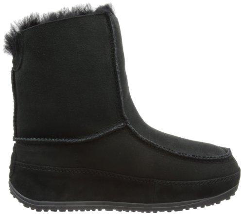 Boots Moccasin Fitflop Women's Moc Grey Dark 2 Mukluk wXv6x