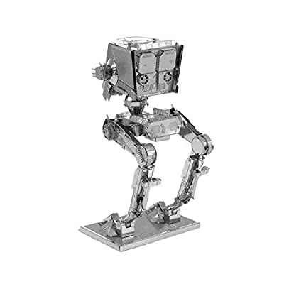 Fascinations Metal Earth Star Wars AT-ST 3D Metal Model Kit: Toys & Games