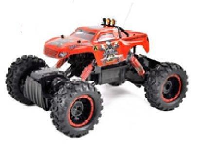 Buggy RC Rey orugas 01:12 RC eléctrico del camión todo terreno 32cm Rojo: Amazon.es: Juguetes y juegos