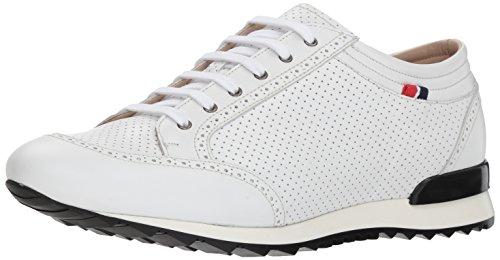 - Bacco Bucci Men's Julien Sneaker, White, 095 D US