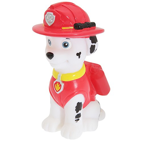 Red Paw Light - Illumi-Mates Paw Patrol Official Childrens Marshall Colour Changing Bedside Lamp (One Size) (White/Red/Yellow)