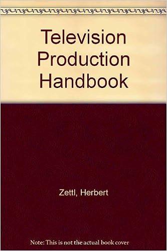 Television production handbook herbert zettl 9780534559946 amazon television production handbook teachers guide edition fandeluxe Images