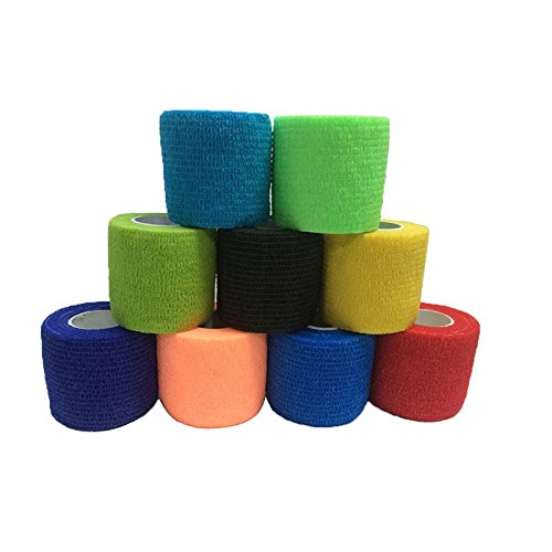 SSXY Waterproof Self-Adhesive Elastic Bandage First Aid Bandage Security Ce/Fda Certification,Random Color