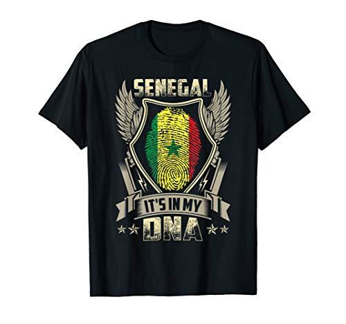 It'S In My DNA Senegal Flag T Shirt Senegal - Colors Senegal Flag