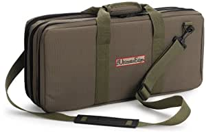 The Ultimate Edge 2001-EVOL 18-Piece Knife Case with Full Accessory Compartment, Olive