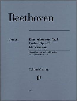 ベートーヴェン: ピアノ協奏曲 第5番 変ホ長調 Op.73 「皇帝」/ヘンレ社/原典版/ピアノ・リダクション版