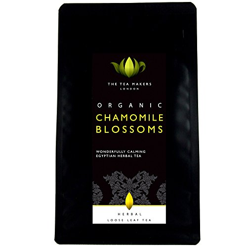 The Tea Makers of London Organic Chamomile Blossoms Herbal Loose Leaf Tea In Pouch 50 G