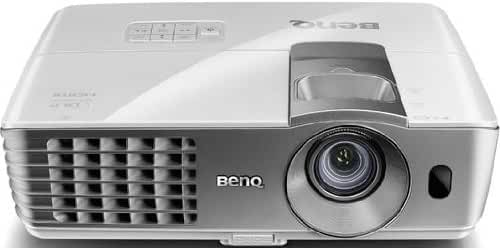 BenQ DLP HD 1080p Projector (W1070) - 3D Home Theater Projector with Lens Shift Technology and RGBRGB Color Wheel