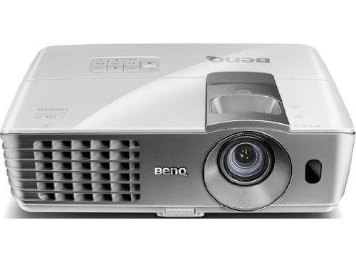 BenQ DLP HD 1080p Projector (W1070) – 3D Home Theater Projector with Lens Shift Technology and RGBRGB Color Wheel