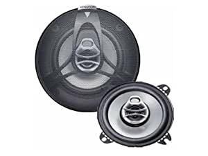 Kenwood KFC-1061C - Altavoces para coche (45 - 22000 Hz, 120 W, 20 W, 90 Db, 30 mm, 12 mm)
