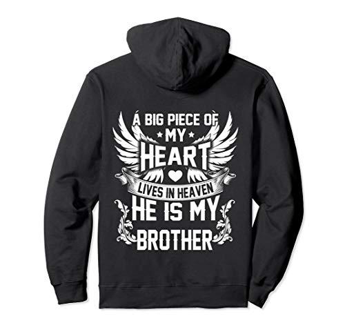Brother My Angel shirt in memory of brother In Heaven hoodie Pullover Hoodie