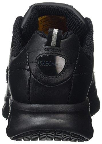 Noir Blk Track de Trickel Noir Femme Chaussures Skechers Sécurité Sure zq8xRnfw