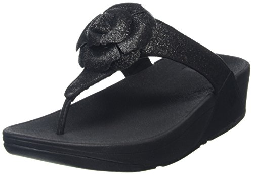 Fitflop Glitterosa - Sandalias Mujer Black (All Black)